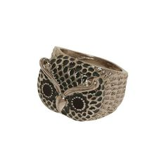 Too Hoot to Handle Ring ($15) ❤ liked on Polyvore featuring jewelry, rings, accessories, anillos, floral jewelry, bohemian style jewelry, boho jewelry, boho rings and boho jewellery