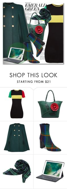 """""""Pops of Green"""" by ilona-828 ❤ liked on Polyvore featuring Chloé, Jeffrey Campbell, Logitech, StreetStyle, emeraldgreen and polyvoreeditorial"""