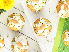 Tu mal lieber die Möhrchen...in die Rübli-Muffins!