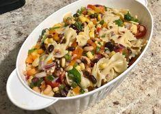 Potato Salad, Cowboy Caviar, Potatoes, Ethnic Recipes, Food, Cilantro, Red Peppers, Potato, Essen