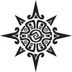 Blackfoot Indian Warrior Symbol | Aztec Symbols For Power Symbol of a sun or star' for my foot or hip