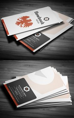 Corporate Business Card #businesscards #corporatedesign #businesscarddesign #psdtemplates