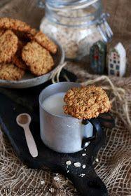 Kokosowe ciastka owsiane Cereal, Cookies, Breakfast, Cake, Sweet, Recipes, Pastries, Food, Ideas