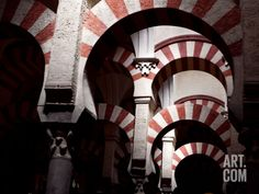 Great Mosque, Cordoba, Spain Photographic Print by Manuel Cohen at Art.com