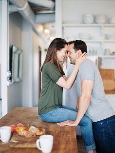 Sara and Nick's Chicago Engagement Shoot