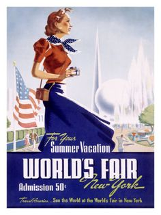 World's Fair, New York, c.1939 Giclee Print at AllPosters.com