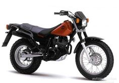 The first bike I ever owned, very briefly back in 2000 - Yamaha TW 125. Great fun.