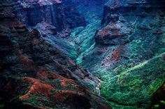Michi 9--Waimea Canyon--Kauai--May 1999—DxO | par John Rusk
