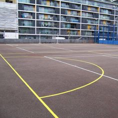 Coloured Macadam Tennis Courts in Dundee City 8