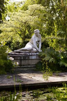 Clare Foster meets the Great Dixter alum with a knack for new plants Garden Statues, Garden Sculpture, Landscape Design, Garden Design, Garden Art, The Secret Garden, Stippling Art, Goblin, Gravure