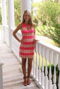 Southern Charm's Cameran Eubanks in Lilly Pulitzer. Preppy Mode, Preppy Style, My Style, Preppy Outfits, Cute Outfits, Spring Summer Fashion, Spring Outfits, Cute Dresses, Casual Dresses