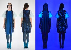 High Low, Behance, Gallery, Blue, Collection, Dresses, Fashion, Vestidos, Moda