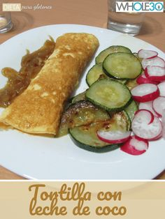 #whole30 Whole30, Zucchini, Vegetables, Ethnic Recipes, Blog, Fitness, Soup Bowls, Plate, Breakfast