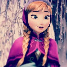 ♥ Anna Cute Princess, Princess Anna, Disney Princess, Frozen 2013, Disney Frozen, Anna Coronation Dress, Frozen Let It Go, Frozen Fan Art, Disney Movies