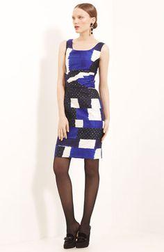 Oscar de la Renta Bandhani Silk & Cotton Dress on sale at #Nordstrom