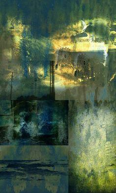 "Saatchi Art Artist Dalton Romão; Collage, ""The Moon"" #art"