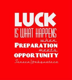Seneca – Luck | Fabulous Quotes