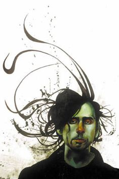 Gah! I love this artists, have many prints by him. Saving this so I can buy more.   -Tim Burton