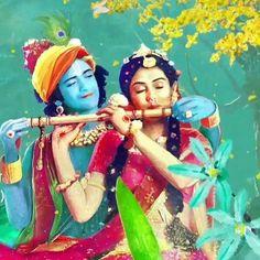 Image may contain: 2 people, outdoor Krishna Avatar, Radha Krishna Holi, Krishna Flute, Krishna Art, Shree Krishna, Lord Krishna Images, Radha Krishna Pictures, Krishna Photos, Radhe Krishna Wallpapers