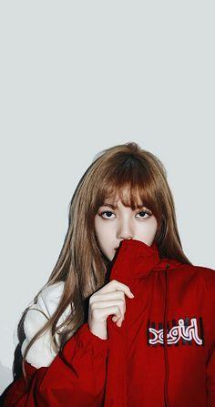 Com RED letter by letter Sea Wallpaper, Lisa Blackpink Wallpaper, Lisa Bp, Jennie Blackpink, South Korean Girls, Korean Girl Groups, Black Pink Kpop, Blackpink Photos, Blackpink Fashion