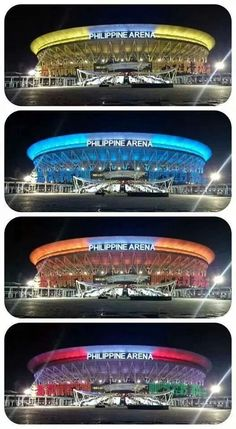 Philippine Arena - officially awarded by the Guinness Book of World Records as the largest Arena in the world. Iron Man Wallpaper, Guinness Book, Churches Of Christ, Philippines, Bible Verses, Challenge, Victoria, Faith, Indoor
