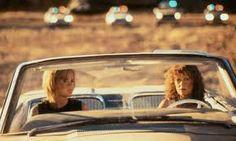 thelma and louise, ik hoop dat onze roadtrip een betere afloop heeft :)