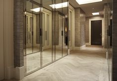 Residential Property, Fendi Chevron Wood Flooring