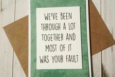 Honest Valentine's Cards For People Who Get STRAIGHT To The Point