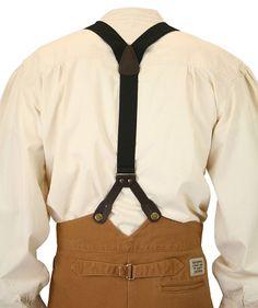 Historical Emporium Men's Canvas Stagecoach Y-Back Button End Suspenders Steampunk Pants, Steampunk Goggles, Steampunk Gadgets, Steampunk Costume, Victorian Mens Clothing, Victorian Mens Fashion, Vintage Clothing, 1920s Men, Victorian Costume