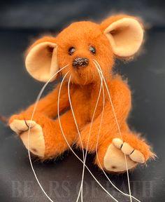 Orange Fizz the Mousebear Call Orange, Adoption, Teddy Bear, Pets, Animals, Foster Care Adoption, Animales, Animaux, Teddy Bears