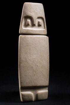 Monolito • Cultura Valdivia, 4000 B.C.-1500 B.C.