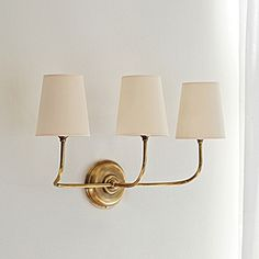 Serena & Lily Everett Sconce. For the den?