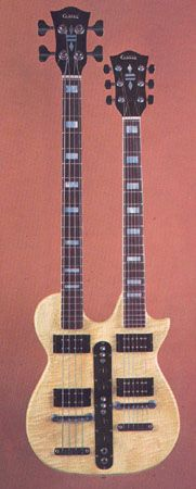 1976 Carvin Double Neck Guitar
