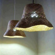 Creative and affordable handmade lighting - Trend Kitchen Decoration Home Decor Baskets, Basket Decoration, Unique Lighting, Lighting Design, Lighting Ideas, Diy Luz, Diy Luminaire, Decoration Originale, Blog Deco