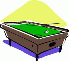 Playing Billiards Clip Art – Cliparts