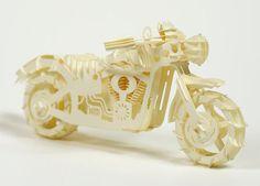 From Felt & Wire: A DIY Paper Sculpture