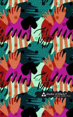 pattern by Shades of Black // Mlle Eugé http://www.shadesofblack.fr/