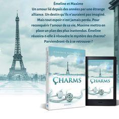 Découvrez Charms, une romance contemporaine Thing 1, Destin, Romance, Cover, Books, Books To Read, Wedding Ring, Romance Film, Romances