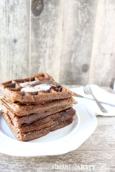 Looking for a waffle recipe that is also autoimmune protocol & paleo friendly? Look no further than these gluten free, nut free, egg free Pumpkin EggNOs!