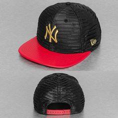 New Era snapback cap Leather Wave New York Yankees zwart 8f863a86b80