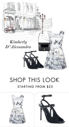 """""""Untitled #677"""" by kimberlydalessandro ❤ liked on Polyvore featuring Balenciaga and Anne Klein"""
