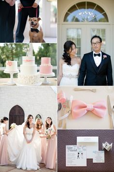 Anne Barge Bride - Hello Kitty - Pink - Real Wedding - Inspiration Board