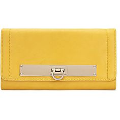 Yoins Yellow Leather-look Across Body Clutch Bag with Gold-tone Metal ($29) ❤ liked on Polyvore featuring bags, handbags, clutches, yoins, yellow, vegan handbags, yellow purse, kiss-lock handbags, faux leather handbags and vegan leather purses