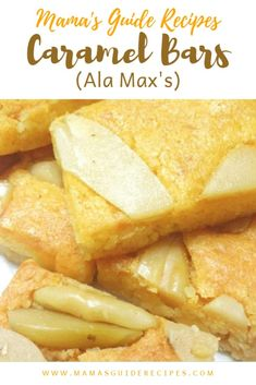 Do you love Caramel Bars Recipe ala Maxs like Max Restaurant? Do you want to bak… – Caramel Pinoy Dessert, Filipino Desserts, Filipino Food, Filipino Recipes, Pinoy Recipe, Filipino Dishes, Pinoy Food, Butterscotch Bars, Caramel Bars