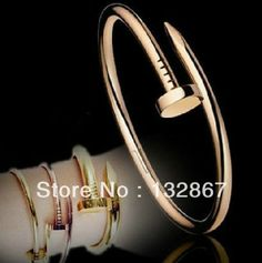Designer Gorgeous Celebrity Just A Nail bangle stainless steel Women Jewelry Rose Gold from Reliable jewelry argentina ...