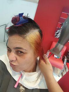 A Saga do cabelo Cor de rosa..