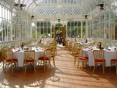 Saw a wedding ceremony at the Horniman Museum last summer - gardens and conservatory are stunning