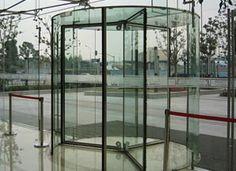 All Glass Revolving Door