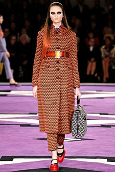 Fall Inspiration via Prada