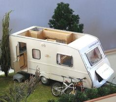how to: miniature caravan